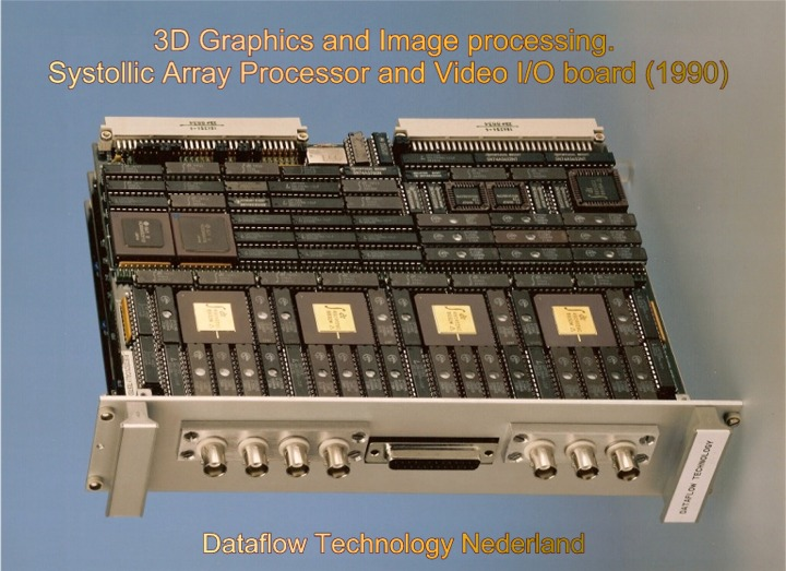 3D graphics and Image processing board