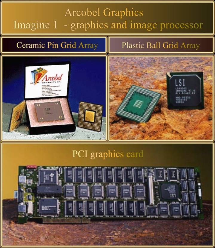 Imagine 1 - graphics and image processor